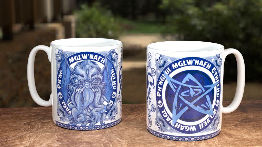 Blue Willow Cthulu