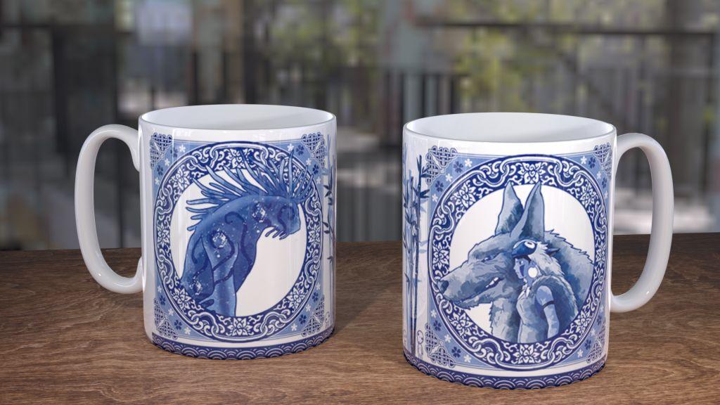 Blue Willow Monoke