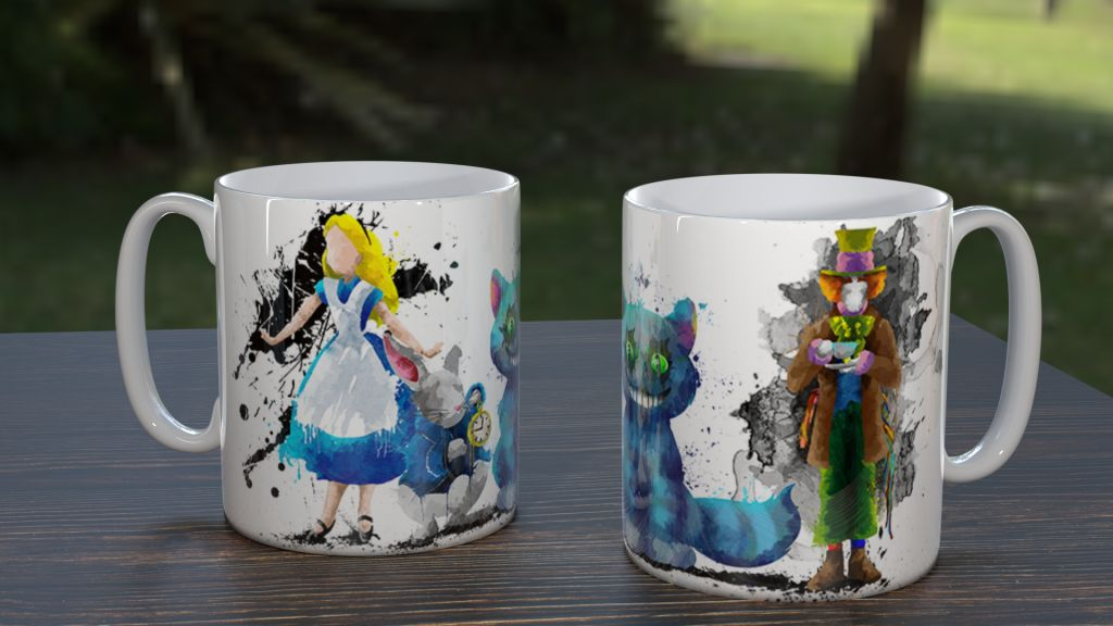 WC Alice Group Mug