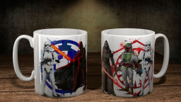 WC StarWrsEmpire Group Mug