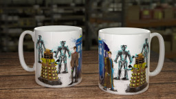 WC DocWho Group Mug