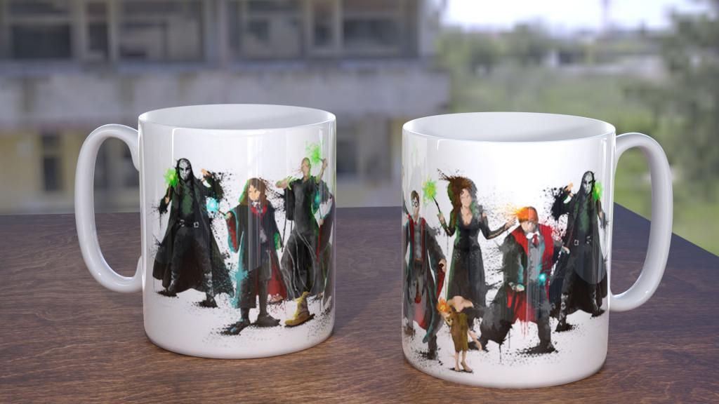 WC HarPot Group Mug