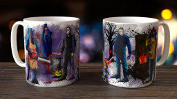 WC Horror Group Mug