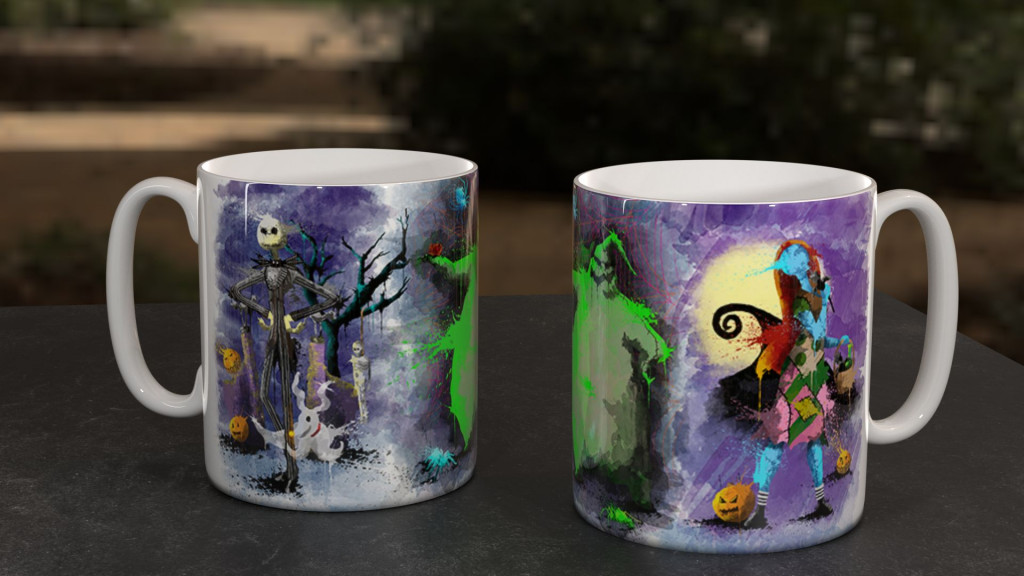 WC NightXmas Group Mug