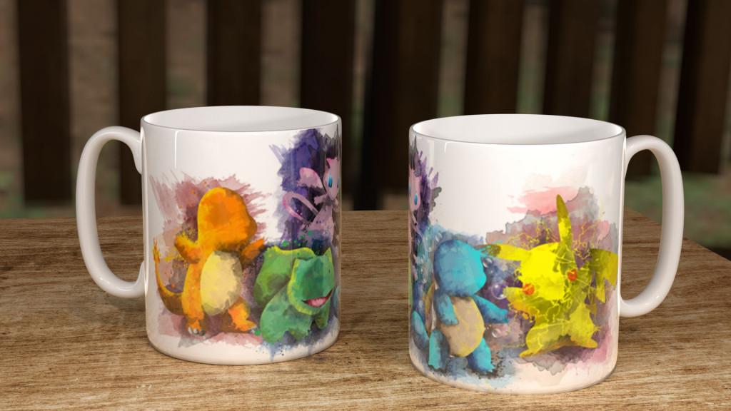 WC Pokmn Group Mug
