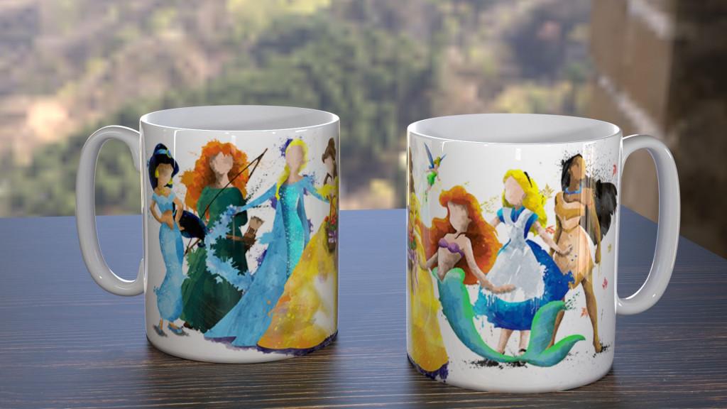 WC Princess Group Mug