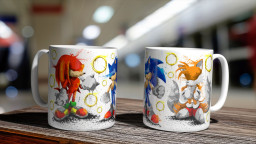 WC Sonic Group Mug