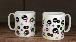 WC SootSprite Group Mug