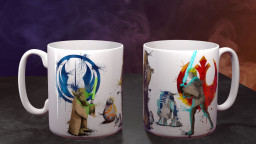 WC StarWrsRebel Group Mug