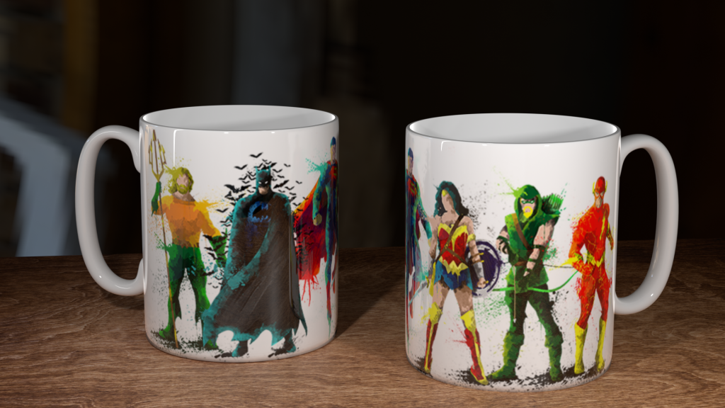 DC Heroes Mug