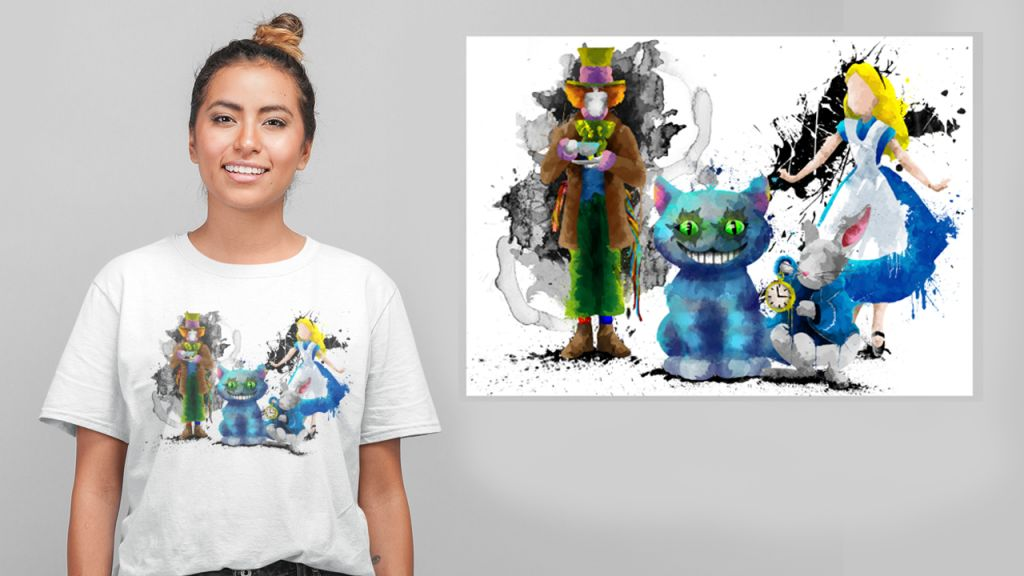 Group Alice T-shirt