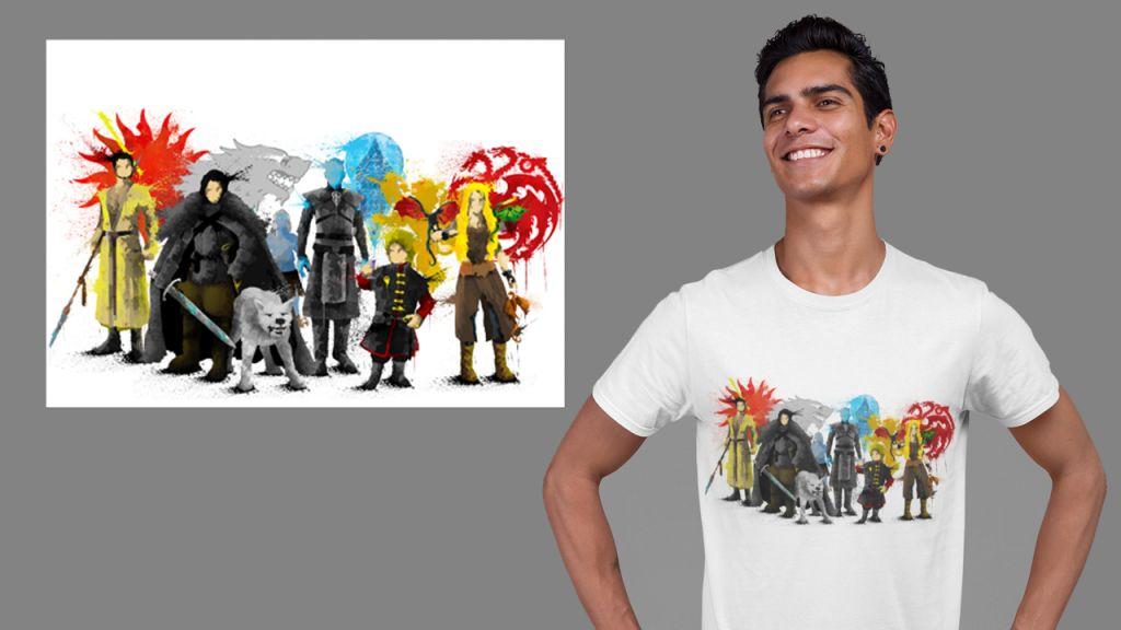 Group GamThrone T-shirt