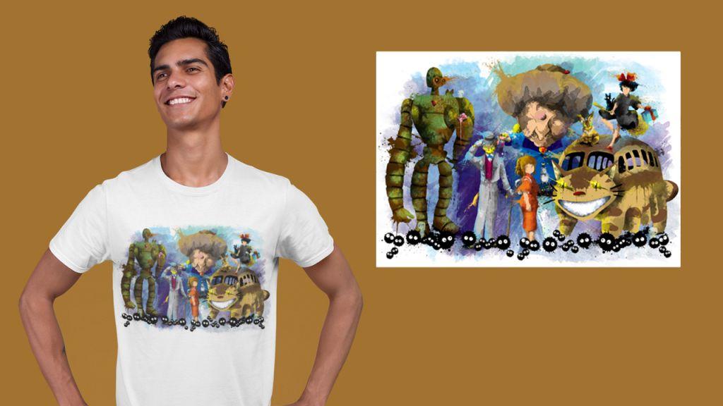Group Anime Ghib2 T-shirt