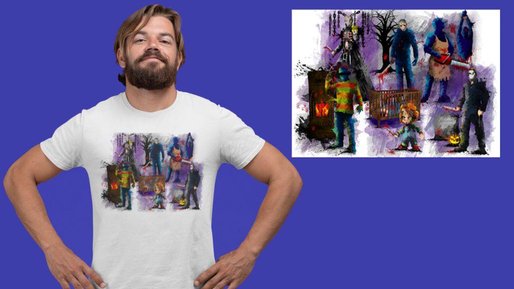 Group Horror T-shirt