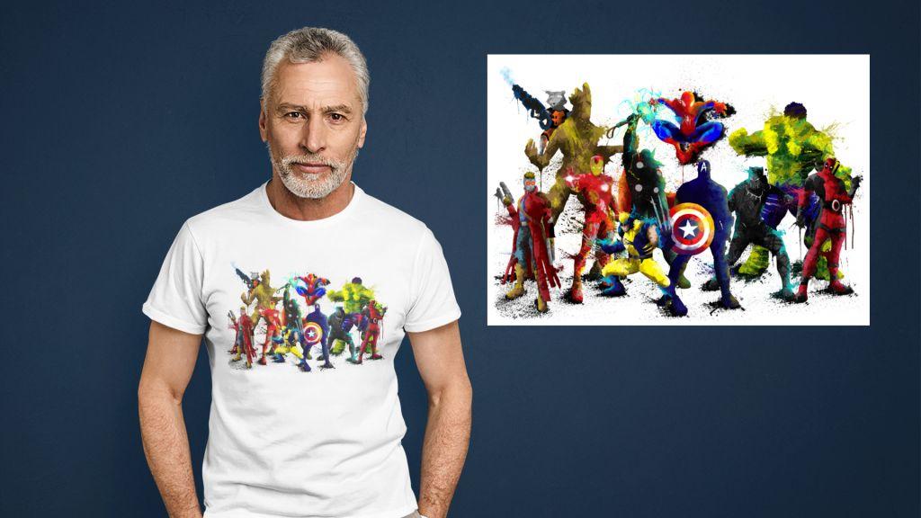 Group Marv Hero T-shirt