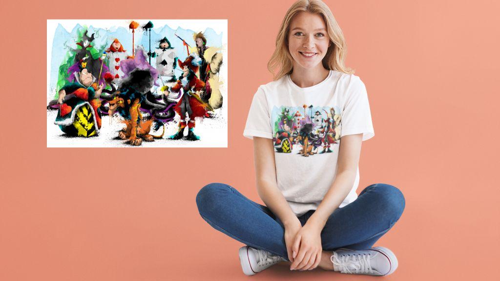 Group Fairy Tale Villain Group T-shirt