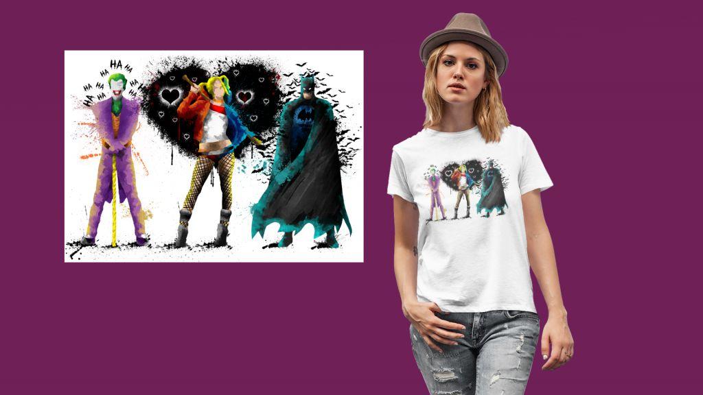 Group Batty T-shirt